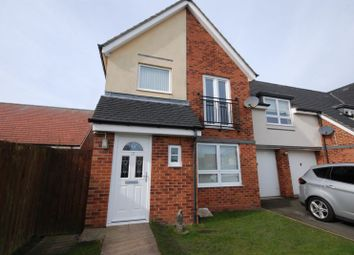 Thumbnail 3 bed property for sale in Hindmarsh Drive, Ashington
