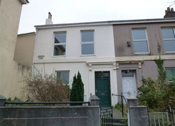 Thumbnail 4 bedroom terraced house to rent in North Road West, Plymouth