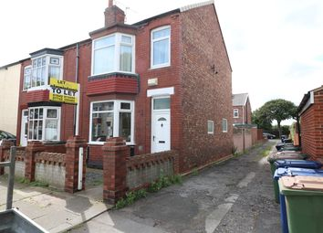 Thumbnail 3 bed terraced house to rent in Queensland Avenue, Redcar