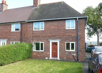 Thumbnail 3 bed end terrace house for sale in Highfield Lane, Chesterfield, Derbyshire