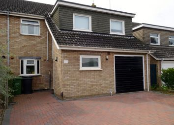 Thumbnail 4 bed semi-detached house for sale in Fairmead Way, Peterborough