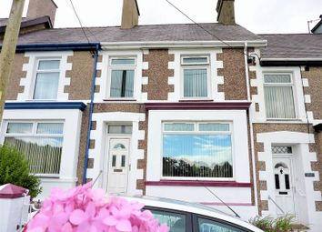 Thumbnail 3 bed terraced house for sale in Church Road, Talysarn, Caernarfon, Gwynedd.