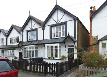 Thumbnail 3 bed terraced house for sale in Alexandra Road, Thames Ditton