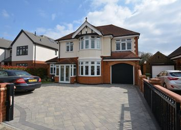 Thumbnail 4 bed detached house for sale in Mashiters Walk, Marshalls Park, Romford