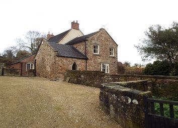 Thumbnail 4 bed detached house to rent in Ireton Wood, Idridgehay, Belper