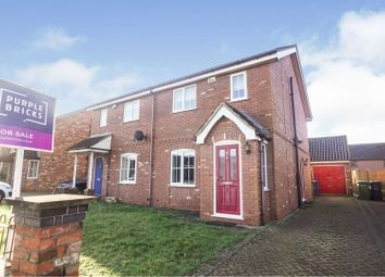 Thumbnail 3 bed semi-detached house for sale in The Glebe, Sturton By Stow