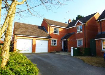 Thumbnail 4 bed detached house for sale in Woodlands, Grange Park, Northampton