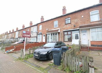 Thumbnail 3 bed terraced house for sale in Mount Pleasant Avenue, Handsworth