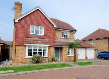 Thumbnail 4 bedroom detached house for sale in Kendal Meadow, Chestfield, Whitstable