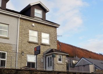Thumbnail 4 bed end terrace house for sale in Filas Wessex, High Street, Ogmore Vale, Bridgend.