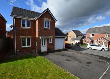 Thumbnail 3 bed detached house for sale in Ffordd Y Dolau, Llanharan, Pontyclun