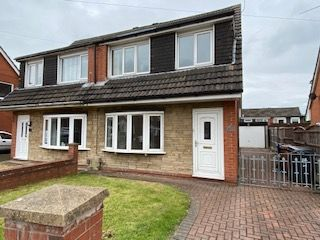 Thumbnail 3 bed semi-detached house to rent in Larchwood Crescent, Leyland