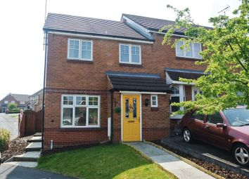 Thumbnail 3 bedroom town house for sale in Fisher Close, Sutton-In-Ashfield