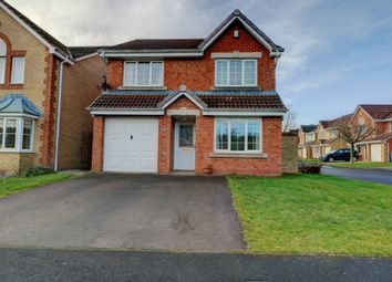 Thumbnail 4 bed detached house for sale in Mickleton Close, Consett