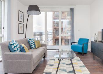 Thumbnail 1 bedroom flat to rent in Royal Wharf Albert Wharf, London, Gallions Reach