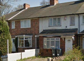 Thumbnail Terraced house for sale in Kenwood Road, Bordesley Green, Birmingham