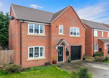 Thumbnail 5 bed detached house for sale in Whittle Road, Holdingham, Sleaford, Lincolnshire