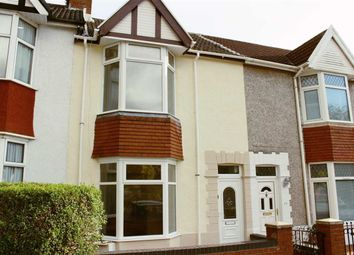 Thumbnail 3 bedroom terraced house for sale in Glanmor Road, Sketty, Swansea