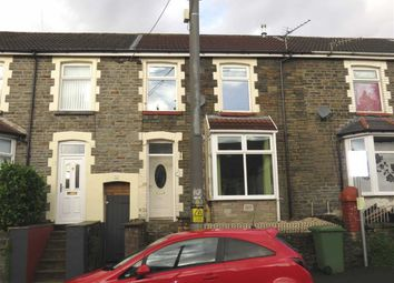 Thumbnail Terraced house for sale in Llwynmadoc Street, Pontypridd