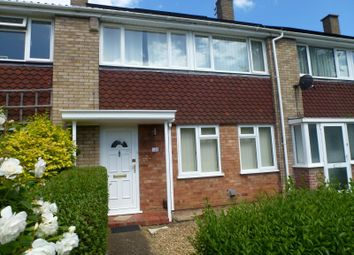 Thumbnail 3 bed terraced house to rent in Burstellars, St. Ives, Huntingdon