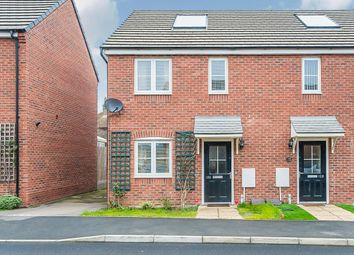 Thumbnail 2 bed semi-detached house for sale in Creed Road, Oundle, Peterborough