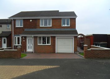 Thumbnail 4 bedroom semi-detached house for sale in Sutton Court, Wallsend