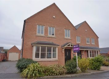 Thumbnail 4 bed detached house for sale in Field View, Leicester
