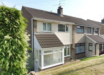 Thumbnail 3 bed semi-detached house for sale in St. Davids Avenue, Dinas Powys