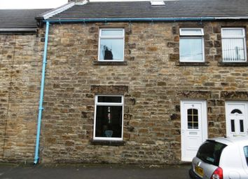 Thumbnail 1 bed terraced house for sale in Cort Street, Consent