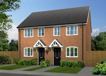 Thumbnail 2 bed semi-detached house for sale in Weaver Green, Melton Mowbray