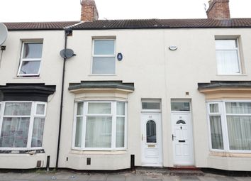 Thumbnail 2 bed terraced house to rent in Bow Street, Middlesbrough