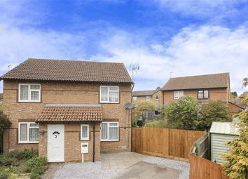 Thumbnail 2 bed semi-detached house to rent in Hexham Gardens, Bletchley, Milton Keynes