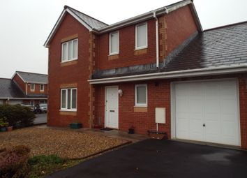 Thumbnail 3 bed link-detached house for sale in Heol Derwen, Cross Hands, Llanelli