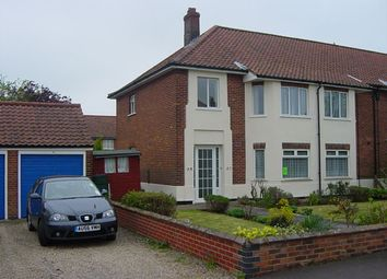 Thumbnail 2 bed property to rent in Josephine Close, Norwich