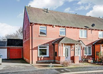 Thumbnail 3 bed terraced house for sale in St. Albans View, Shiremoor, Newcastle Upon Tyne