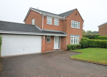 Thumbnail 4 bed detached house for sale in Wilberforce Way, Solihull