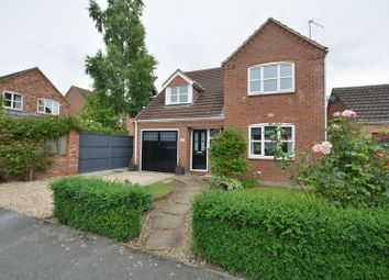 Thumbnail 4 bed detached house for sale in Northfield Rise, Saxilby, Lincoln