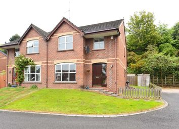 Thumbnail 3 bed semi-detached house for sale in St. Ellens, Edenderry Village, Belfast