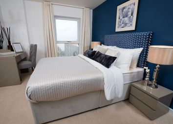 Thumbnail 3 bedroom flat for sale in Trinity Walk, Woolwich