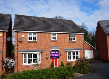 Thumbnail 4 bed detached house for sale in Hunters Close, Great Haywood