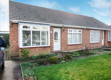 Thumbnail 2 bed semi-detached bungalow for sale in Leveson Road, Sprowston, Norwich
