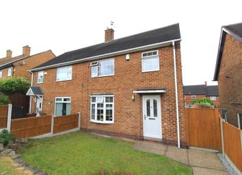 Thumbnail 3 bed semi-detached house for sale in Mildenhall Crescent, Bestwood Park, Nottingham