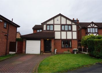 Thumbnail 4 bedroom detached house for sale in Chiswick Drive, Manchester