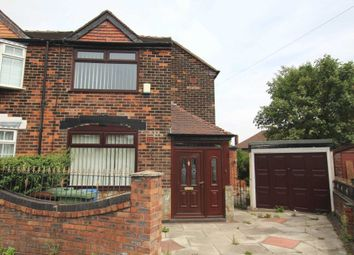 Thumbnail 3 bed semi-detached house to rent in Newington Avenue, Prestwich, Manchester