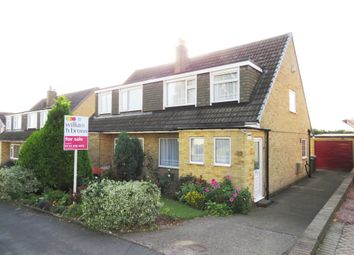 Thumbnail 3 bed semi-detached house for sale in Hall Park Avenue, Horsforth, Leeds
