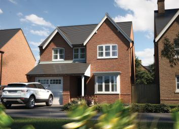 "Thumbnail 4 bed detached house for sale in ""The Hemsby"" at Winchester Road, Fair Oak, Eastleigh"