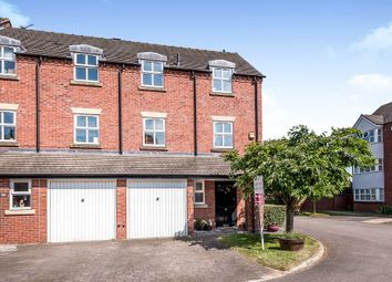 Thumbnail 3 bed town house for sale in Sharlotte Court, Uttoxeter
