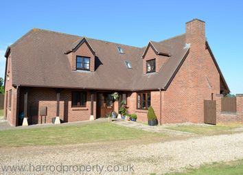 Thumbnail 4 bed detached house to rent in Main Road, Coxley, Nr Wells