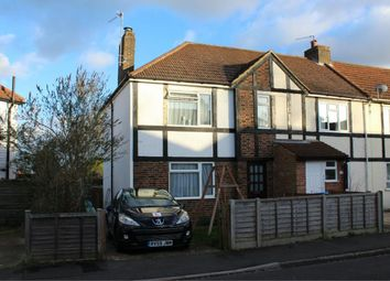 Thumbnail 3 bed end terrace house for sale in Clive Road, Aldershot