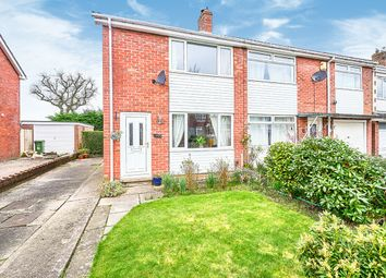 Thumbnail 2 bed semi-detached house for sale in Lodore Drive, Carlisle, Cumbria